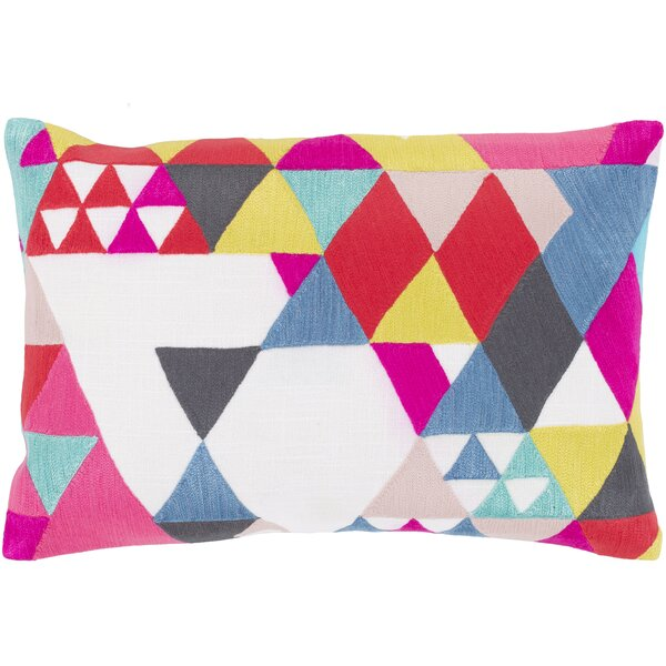 Annika 100% Cotton Lumbar Pillow Cover by Ivy Bronx
